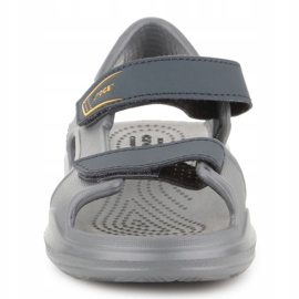 Sandały Crocs Swiftwater Jr 206267-0GR szare 1