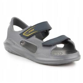Sandały Crocs Swiftwater Jr 206267-0GR szare 3