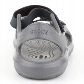 Sandały Crocs Swiftwater Jr 206267-0GR szare 5