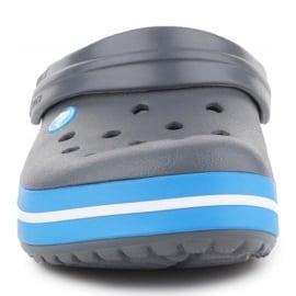 Klapki Crocs Crocband W 11016-07W niebieskie szare 1