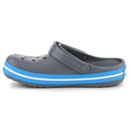 Klapki Crocs Crocband W 11016-07W niebieskie szare 4