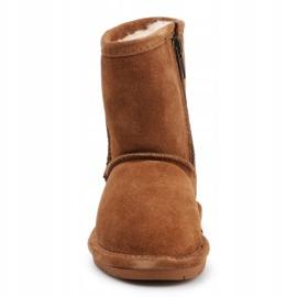 Buty zimowe BearPaw Emma Toddler 608TZ brązowe czarne 1