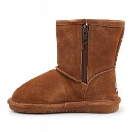 Buty zimowe BearPaw Emma Toddler 608TZ brązowe czarne 4