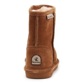 Buty zimowe BearPaw Emma Toddler 608TZ brązowe czarne 5
