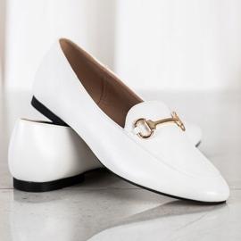 Seastar Eleganckie Mokasyny białe 1