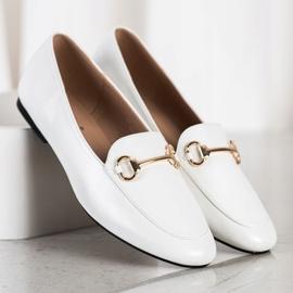 Seastar Eleganckie Mokasyny białe 4