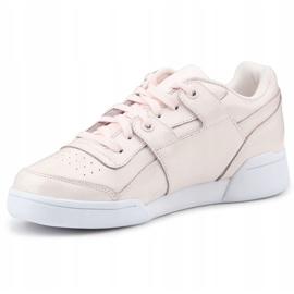 Buty Reebok W/O Lo Plus Iridescent W CM8951 różowe 2