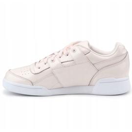 Buty Reebok W/O Lo Plus Iridescent W CM8951 różowe 4