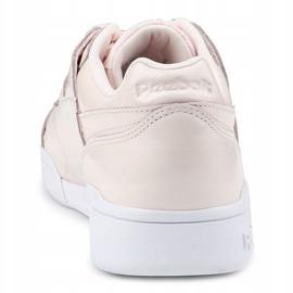 Buty Reebok W/O Lo Plus Iridescent W CM8951 różowe 5
