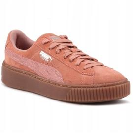 Buty Puma Suede Platform Animal W 365109 02 różowe 3