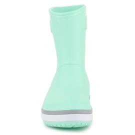 Kalosze Crocs Crocband Rain Boot K Jr 205827-3TO niebieskie 1