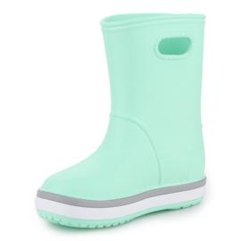 Kalosze Crocs Crocband Rain Boot K Jr 205827-3TO niebieskie 2