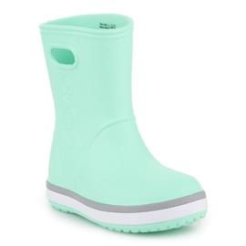 Kalosze Crocs Crocband Rain Boot K Jr 205827-3TO niebieskie 3