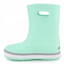 Kalosze Crocs Crocband Rain Boot K Jr 205827-3TO niebieskie 4