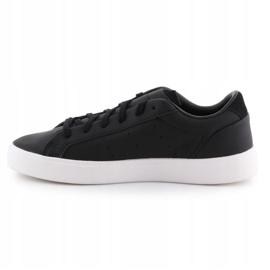 Buty adidas Sleek W CG6193 czarne 4