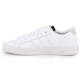 Buty adidas Sleek W EF4935 białe 4