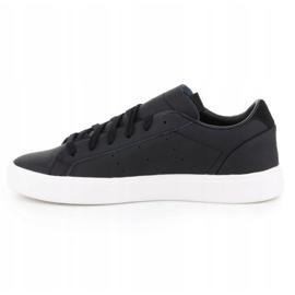 Buty adidas Sleek W EF4933 czarne 4