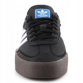 Buty adidas Sambarose W B28156 białe czarne 1