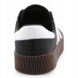 Buty adidas Sambarose W B28156 białe czarne 5