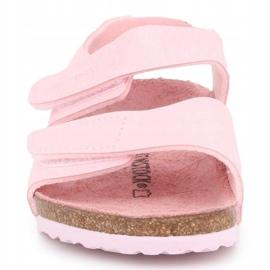 Sandały Birkenstock Palu Kids Logo Bs 1015409 różowe 1