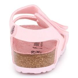 Sandały Birkenstock Palu Kids Logo Bs 1015409 różowe 5