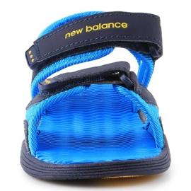 Sandały New Balance Kids Pool Sandal K2004NBL granatowe niebieskie 1