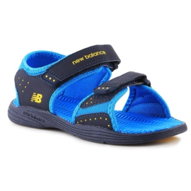 Sandały New Balance Kids Pool Sandal K2004NBL granatowe niebieskie 3