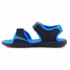 Sandały New Balance Kids Pool Sandal K2004NBL granatowe niebieskie 4