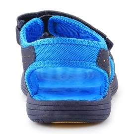Sandały New Balance Kids Pool Sandal K2004NBL granatowe niebieskie 5