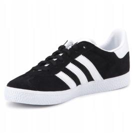 Buty adidas Gazelle C Jr BB2507 czarne niebieskie 2