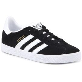 Buty adidas Gazelle C Jr BB2507 czarne niebieskie 3