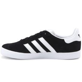 Buty adidas Gazelle C Jr BB2507 czarne niebieskie 4