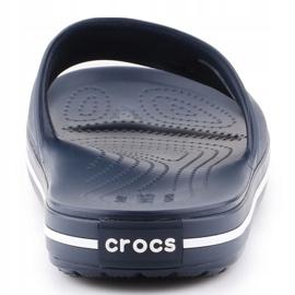 Klapki Crocs Crocband Slide 205733-462 granatowe 5