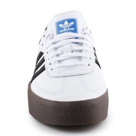 Buty adidas Sambarose W AQ1134 białe czarne 1