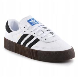 Buty adidas Sambarose W AQ1134 białe czarne 3