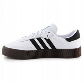 Buty adidas Sambarose W AQ1134 białe czarne 4