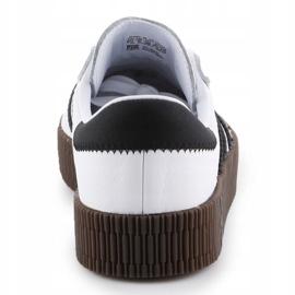Buty adidas Sambarose W AQ1134 białe czarne 5