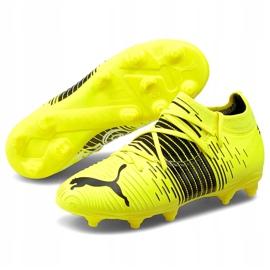 Buty piłkarskie Puma Future Z 3.1 Fg Ag Junior żółte 106395 01 3