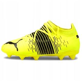 Buty piłkarskie Puma Future Z 3.1 Fg Ag Junior żółte 106395 01 2