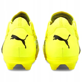 Buty piłkarskie Puma Future Z 3.1 Fg Ag Junior żółte 106395 01 4