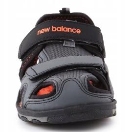 Sandały New Balance Kids Expedition Sandal Jr K2005BON czarne niebieskie 1