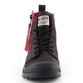 Buty Palladium Pampa Unzipped W 76443-008-M czarne czerwone 1