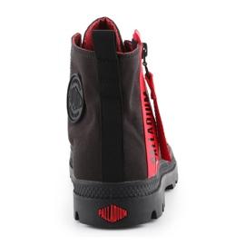 Buty Palladium Pampa Unzipped W 76443-008-M czarne czerwone 5