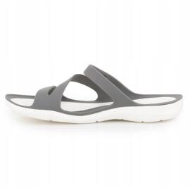Klapki Crocs Swiftwater Sandal W 203998-06X szare 4