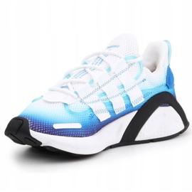 Buty adidas Lxcon Jr EE5898 czarne niebieskie 2