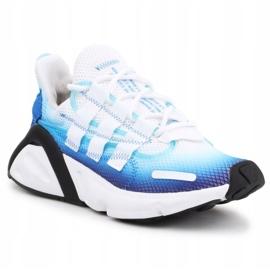 Buty adidas Lxcon Jr EE5898 czarne niebieskie 3