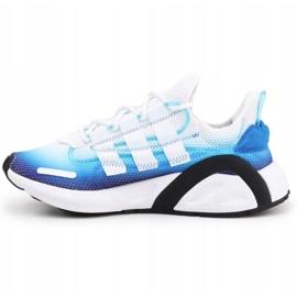 Buty adidas Lxcon Jr EE5898 czarne niebieskie 4