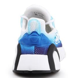 Buty adidas Lxcon Jr EE5898 czarne niebieskie 5