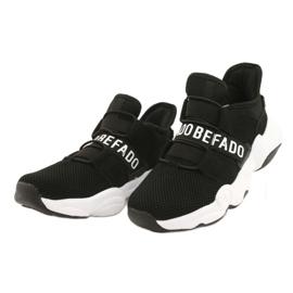 Befado obuwie dziecięce  516X066 białe czarne 2
