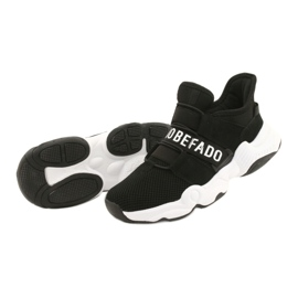 Befado obuwie dziecięce  516Y066 czarne 3